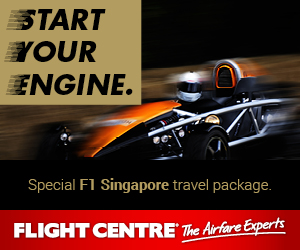 Singapore F1 Special Travel Package