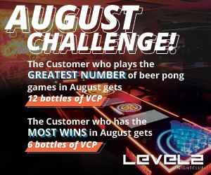 LEVELS Presents: August Challenge