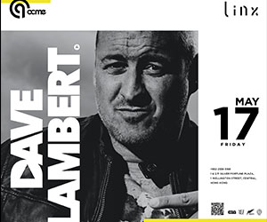 Acme by Linx presents Dave Lambert - 17th May
