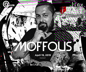 Acme by Linx presents DJ Moffous | 19 APR 2019