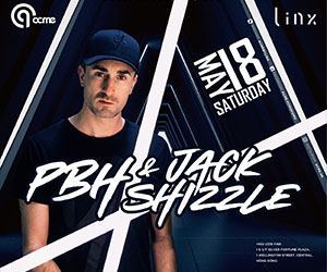 hkclubbing.com x ACME by Linx presents PBH (PBH x Jack Shizzle) - 18th May
