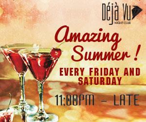 Deja Vu Amazing Summer 2015