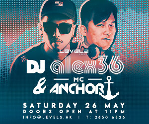DJ alex36 & MC Anchor at LEVELS