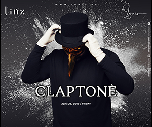 Ignis presents Claptone | 26 APR 2019
