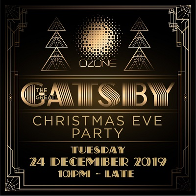 """The Great Gatsby"" Christmas Eve Party"
