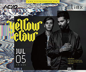 Acyo by Linx presents Yellow Claw - 5th July