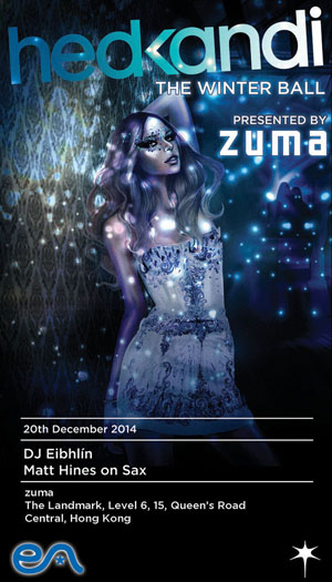 Zuma Presents Hed Kandi Winter Ball