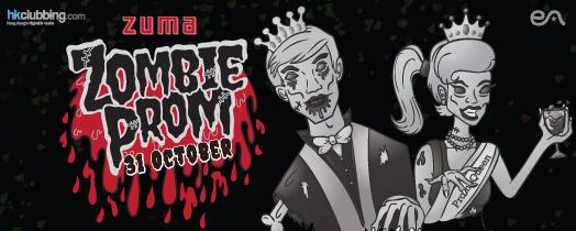 zuma presents Zombie Prom 2015