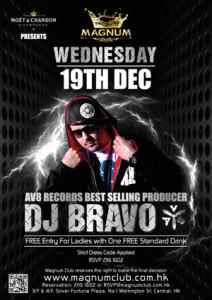 Magnum Club Presents DJ Bravo