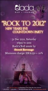 """Rock to 2012"" New Year's Eve Countdown Party"