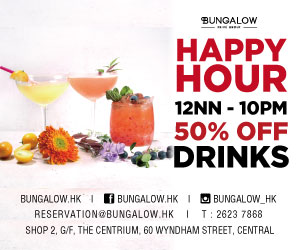 Bungalow Happy Hour 50% Off