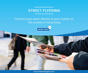 Flyering - Entertaining Asia
